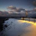 Das Nordkapp in der Polarnacht um ein Uhr mittags, Copyright: insidenorway