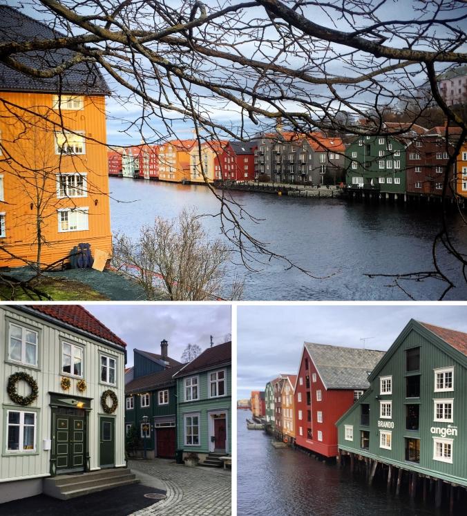 Trondheim Kanalhafen und Bakklandet, Copyright: insidenorway