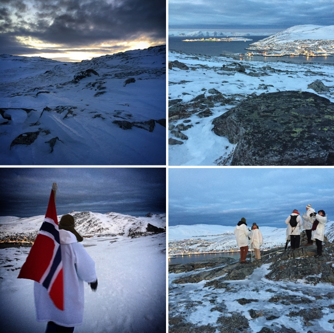 Über Hammerfest, Copyright: insidenorway