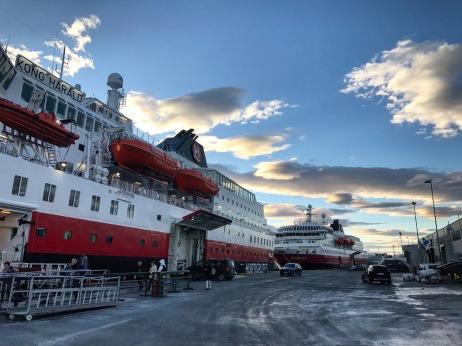 Abschied in Trondheim, Copyright: insidenorway
