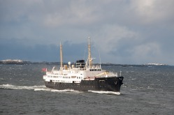 Die MS Nordstjernen am Polarkreis, Copyright: Adi Blachhut