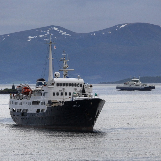 Die MS Lofoten in Molde, Copyright: insidenorway