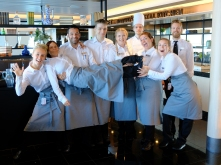 Service-Crew, Copyright: Helen Gödde