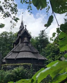 Fantoft Stabkirche Bergen, Copyright: insidenorway