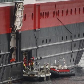 Die MS Fram am Torghatten, Copyright: insidenorway