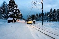 Trondheim, Historische Tram; Copyright: Anne Klatt