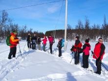 Schneeschuhwanderung; Copyright: Janina Graf