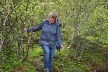 Lofotenwanderung, Copyright: Andrea Puschmann