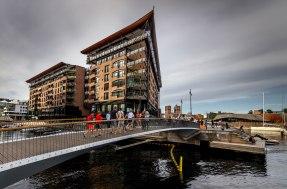 Oslo, Akerbrygge, Copyright: insidenorway
